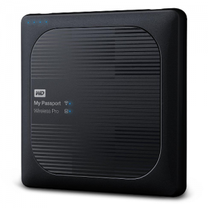 HDD MY PASSPORT WIRELESS PRO USB3.0 Wi-Fi SD CARD SLOT 4TB
